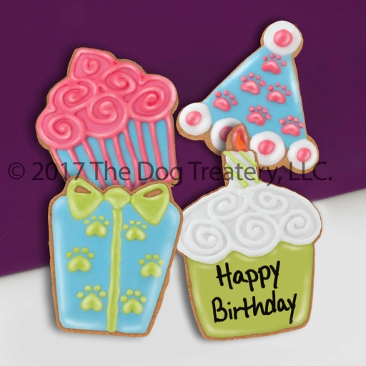 Birthday Cookie 4 Pack