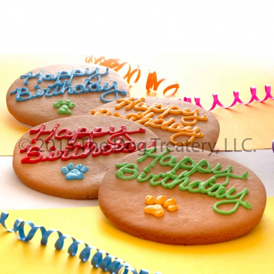 Birthday Cookies For Dogs Customized