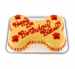 Big Bone Birthday Cake for Dogs